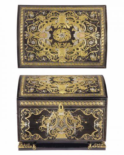 Coffret d'époque Louis XIV attribué à André-Charles Boulle - Collection particulière - Christie's image